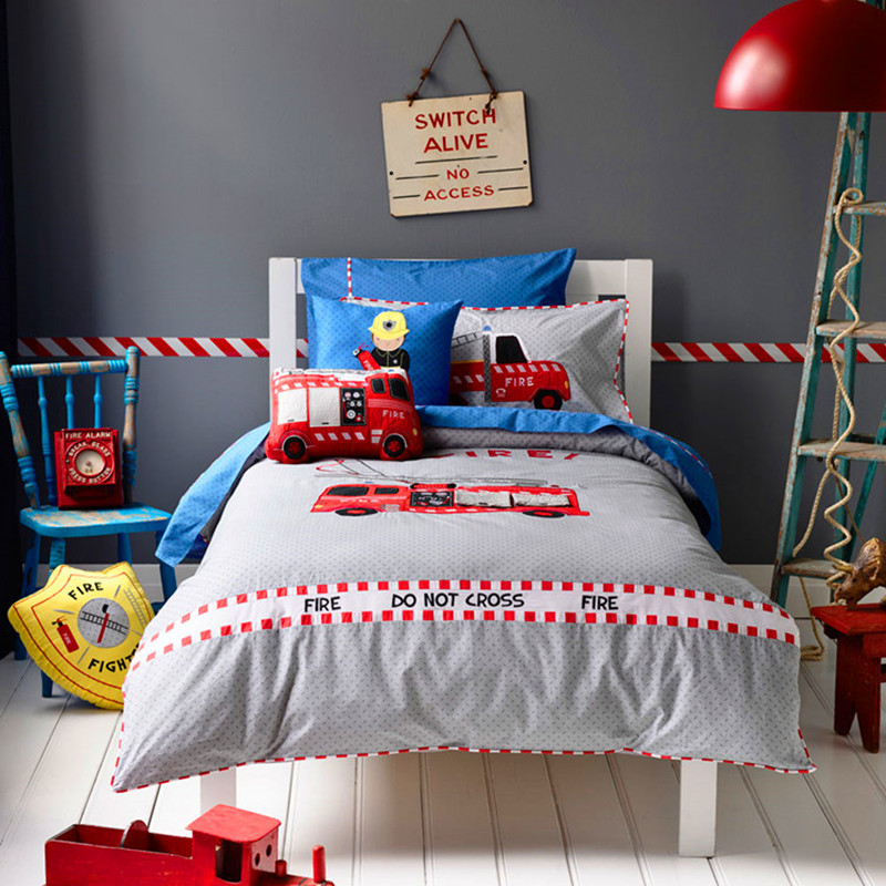 аппликация пожарная машина