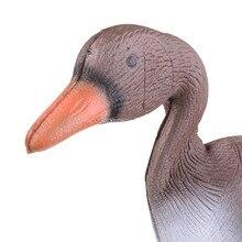 2 stücke Leichte 3D XPE Lebensechte Jagd Goose Decoy Garten Rasen Jagd Ente Lockvögel Garten Hof See Dekorative Garten Ornament