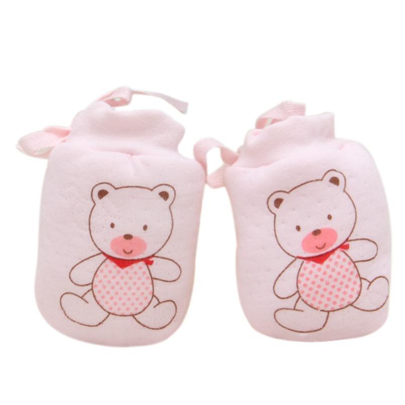 4 Pairs Cotton Newborn Baby//infant Boy Anti-scratch Mittens Gloves Little Dog