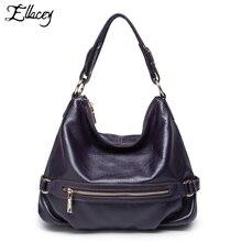 ELLACEY Marke 100% Echte Echtem Leder OL Stil Frauen Handtasche Einkaufstasche Damen Casual Schulter Crossbody Taschen Elegante Frauen Tasche