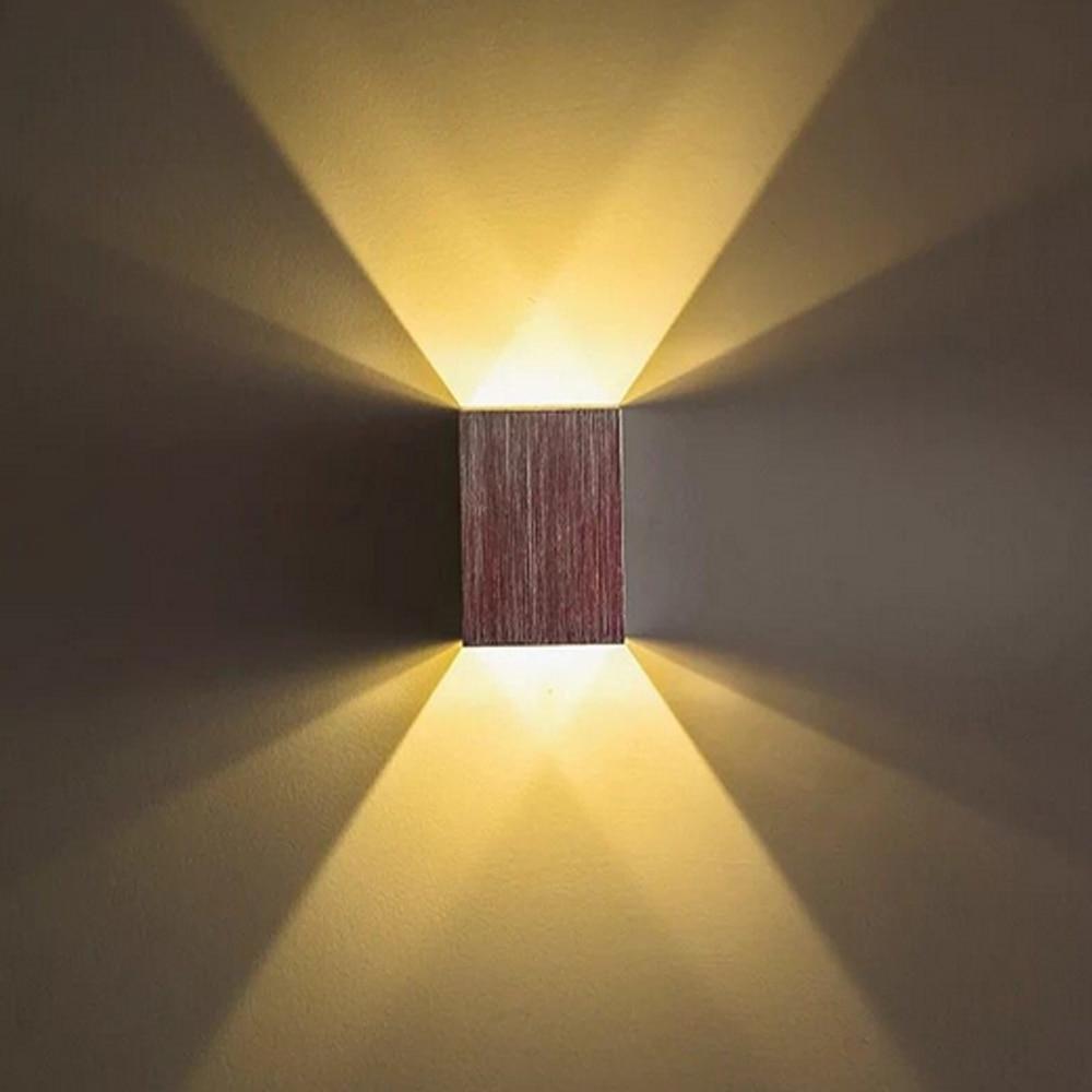 LED Wall Lamp Waterproof Cube COB LED Light Wall Lamp Modern Home ...