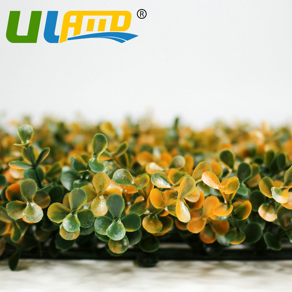 ULAND Outdoor Hedge Artificial Boxwood Privacy Fence 10x10\