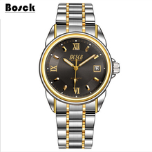 Bosck men's mechanical watches belts business watches luxury fashion watch relogio masculino erkek kol saati montre homme reloj