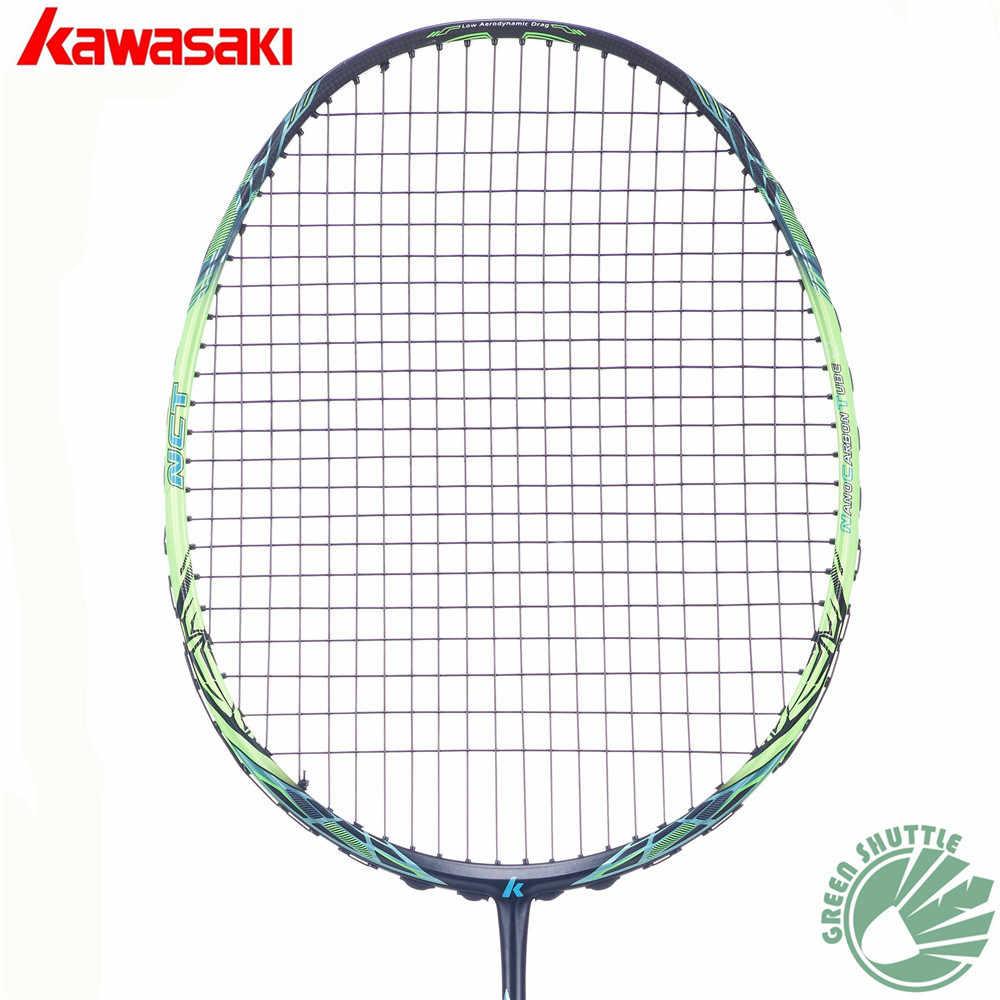2018 Five Star 100% Original Kawasaki Top Quality Badminton Racket Professional Force Carbon Fiber Raquette Badminton