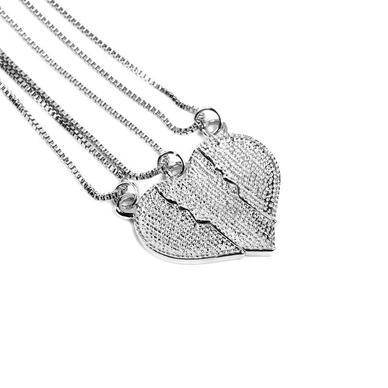 e7da3b7533953c Groothandel 20 sets/partij Mode sieraden grote sis mom Liefdevolle Hart  Stiksels Ketting Goud/Verzilverd Hangers Voor Vrouwen/moeder Gi in  Groothandel 20 ...