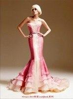 Free Shipping 2013 New Style Vestidos De Festa Formal Long Gown Floor Length Sexy Celebrity Elegant