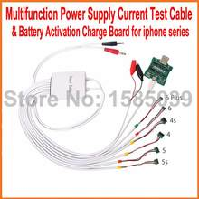 Multifunction Professional Power Supply Current Test Cable + Battery Activation Charge Board for iPhone 6 / Plus 5S 5 4S 4(China)