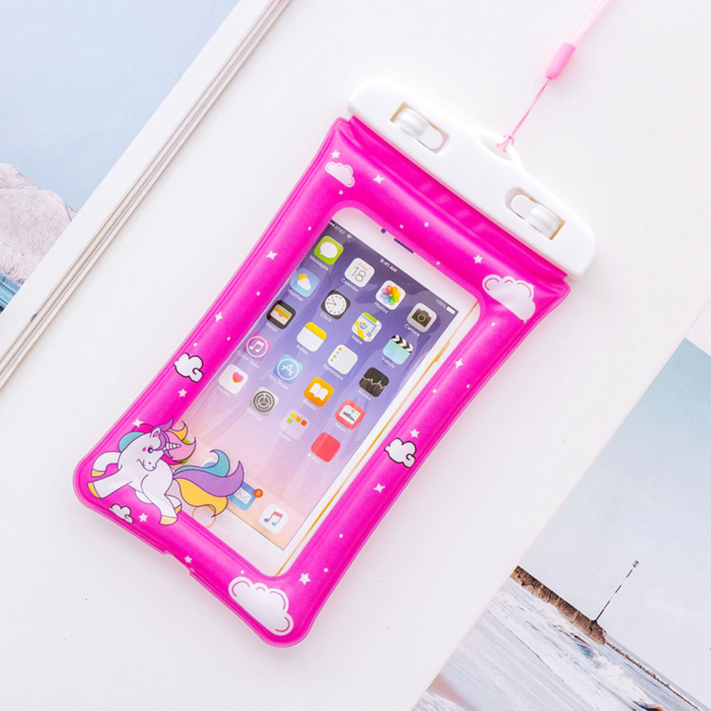 Universal-Swimming-Phone-Bags-Case-Unicorn-Cartoon-Flamingo-Portable-Diving-Pouch-Air-Bag-For-iPhone-X-7-8-Plus-6-6s-S8-S9-DH16- (19)