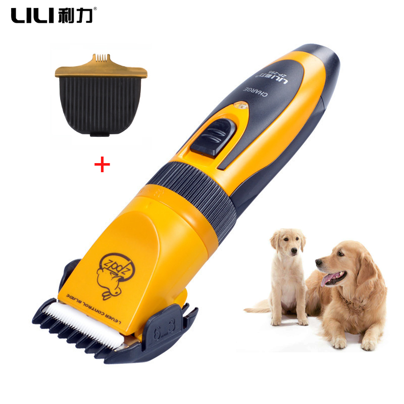 Professional Rechargeable Pet Cat Dog Hair Trimmer Electrical Dogs Hair Clipper hair Grooming clipper Set Pets Haircut Machine codos chc 958 professional 4 step hair clipper electrical hair trimmer standard version