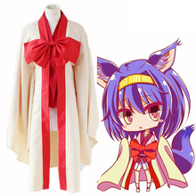 Anime No Game No Life Cosplay Costumes Izuna Hatsuse Cosplay Costume Kimono Halloween Carnival Party Women Cosplay Costume цены