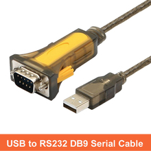 Adaptador convertidor USB Zu RS232 DB9 serie kabel macho A con Chipset PL2303 para Windows98/XP/98ES/ 7/8 y más
