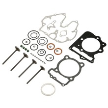 Cylinder Head Gasket Valve Rebuild Kit For Honda Trx400ex Sportrax 400 2x4 1999-2008 New genuine honda 12100 p13 000 cylinder head assembly