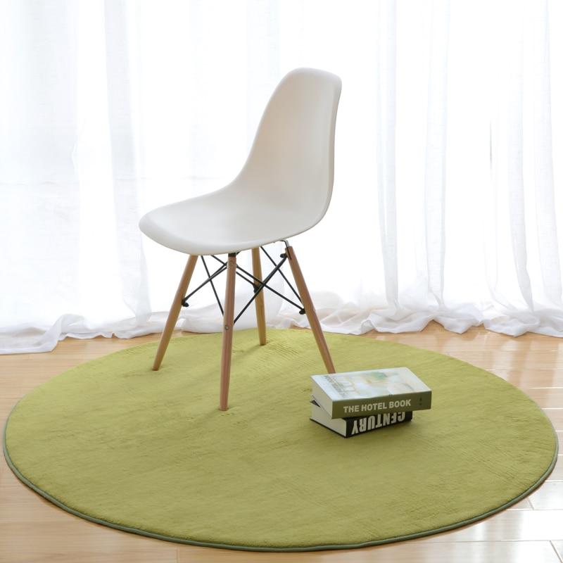 ONEONEY 80*80 простые приветственные круглые коврики с принтом для ванной, кухни, коврики для гостиной, противоскользящие