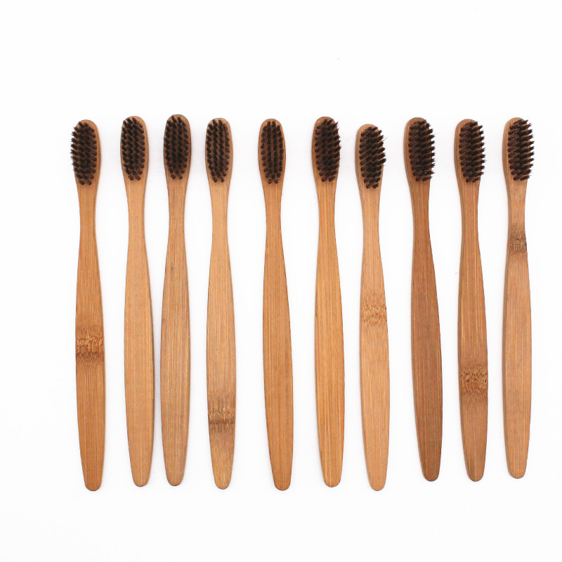 10 Pieces/ Bamboo Toothbrush 1