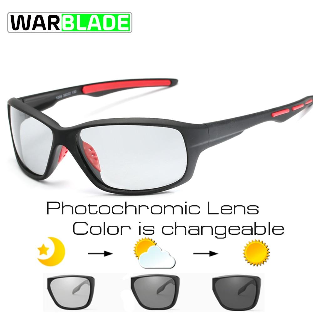 Sport Photochromic Polarized Glasses Cycling Eyewear Bicycle Glass MTB Bike Bicycle Riding Fishing Cycling Sunglasses 2018