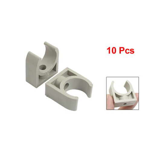 High Quality 10 Pcs 25mm Diameter PPR Water Supply Pipe Clamps Clips Fittings