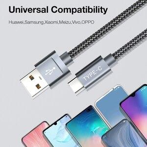 Image 5 - JSAUX Cáp USB Type C Dành Cho Xiaomi Redmi Note 7 USB C Sạc Nhanh Type C Cáp Dữ Liệu dành Cho Samsung Galaxy Samsung Galaxy S9 S8 Plus S10