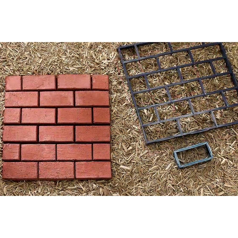 Garden Buildings Diy Plastic Path Maker Mold Manually Paving Cement Brick Molds Garden Stone Road Concrete Molds Pavement For Garden Home 4lp