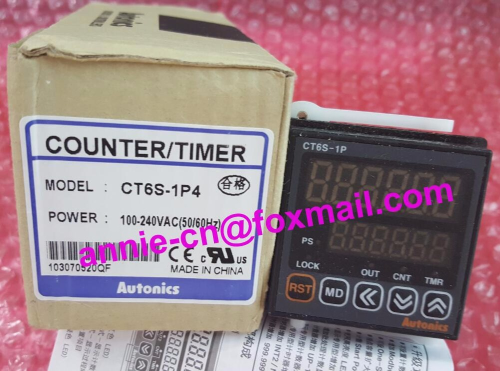 ФОТО CT6S-1P4 New and original  AUTONICS   Timer/counter