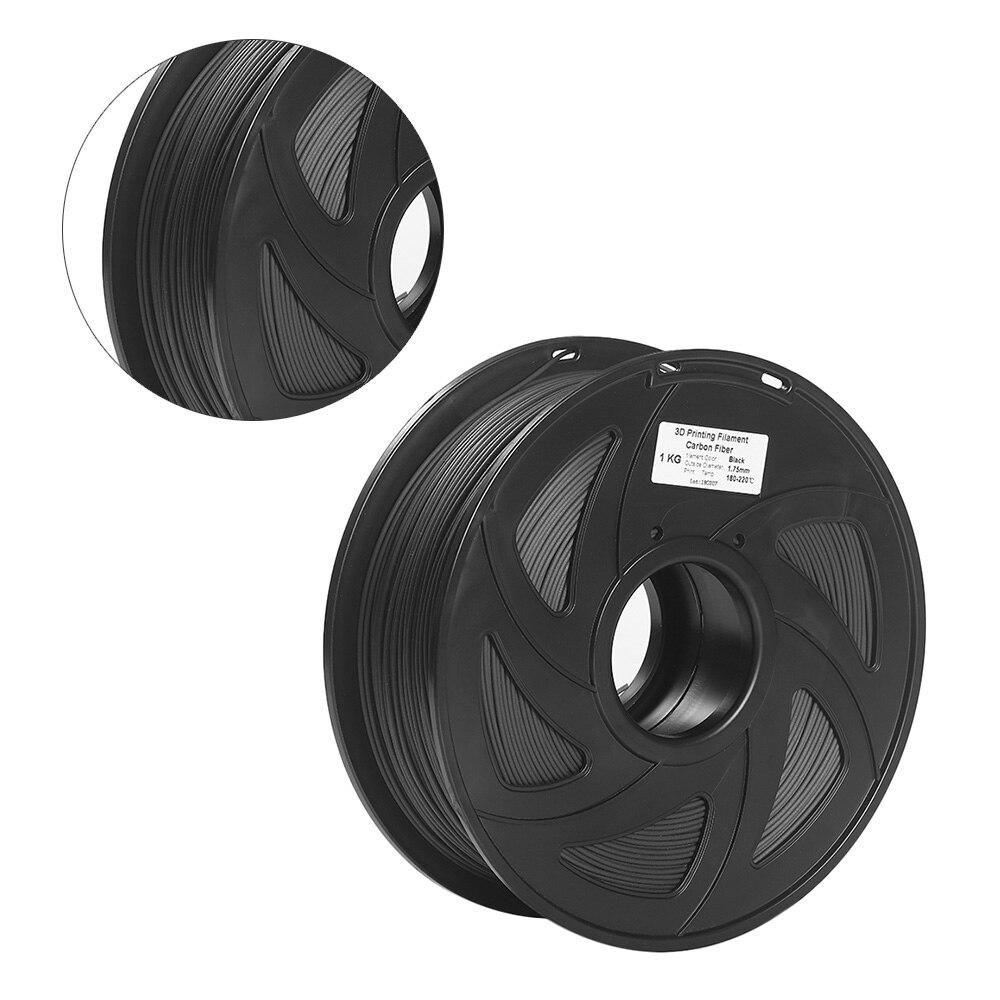 3D Printer Filament Carbon Fiber With Degradable PLA 3D Printing Material Colorful 1 75mm Dimension 1kg