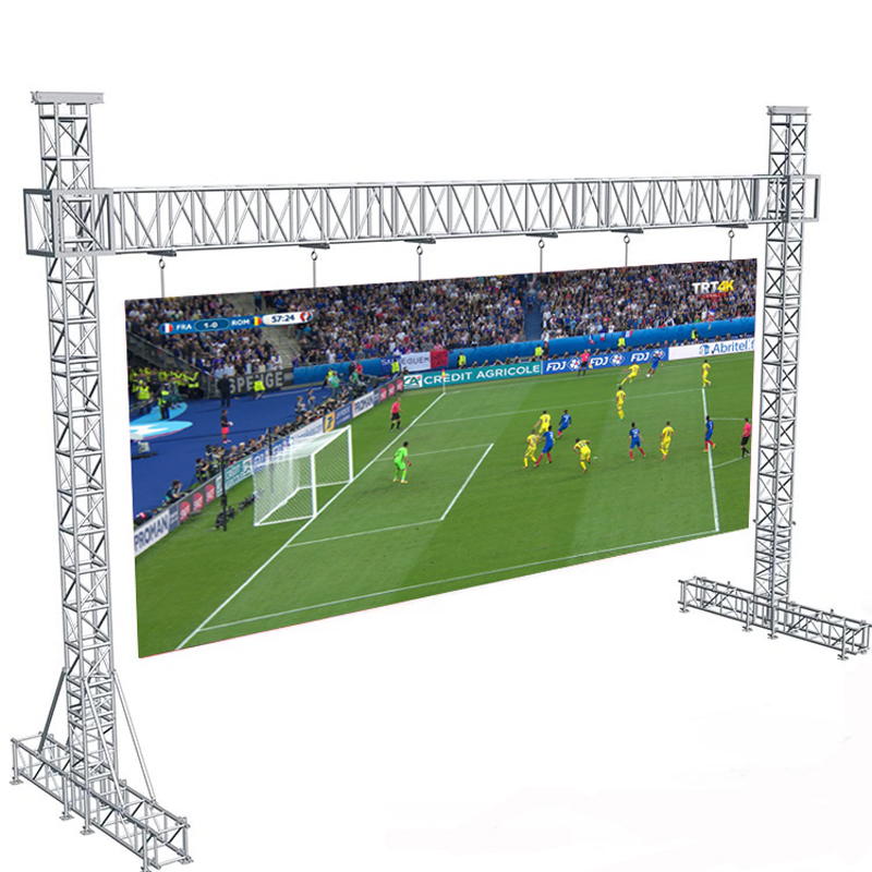 Outdoor Full Color P4.81mm Rental Led Display Screen For Stage Concert Advertising RGB Led Video Wall Panel 500 x 500mm