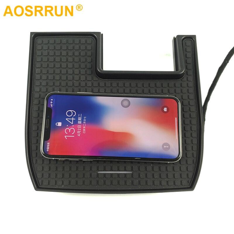 Voiture téléphone portable QI chargeur sans fil Module voiture accessoires pour Honda Civic 2016 2017 2018 2019