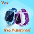 Vwar Vm10 Relógio Inteligente À Prova D' Água Do Bebê Anti-perdida Smartwatch Telefone Presente da Criança Do Bebê Do Monitor SOS GPS Assistir Q50 Q60 Q90