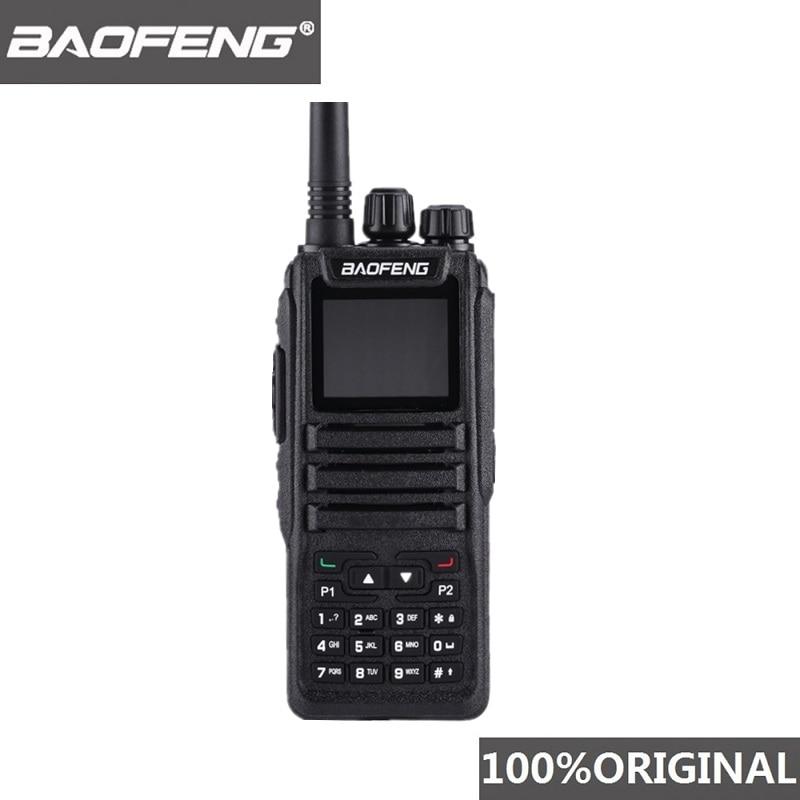Baofeng DM 1701 DMR Walkie Talkie Tier 1 Tier 2 Dual Time Slot Dual Band Digital Two Way Radio Baofeng Dm 1701 Ham Radio Station-in Walkie Talkie from Cellphones & Telecommunications