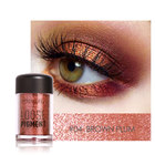 Focallure 18-Color Eyeshadow Glitter Powder Eye Beauty Glitter Powder Longlasting Shimmer Pigment Eyeshadow Glitter Powder TSLM1