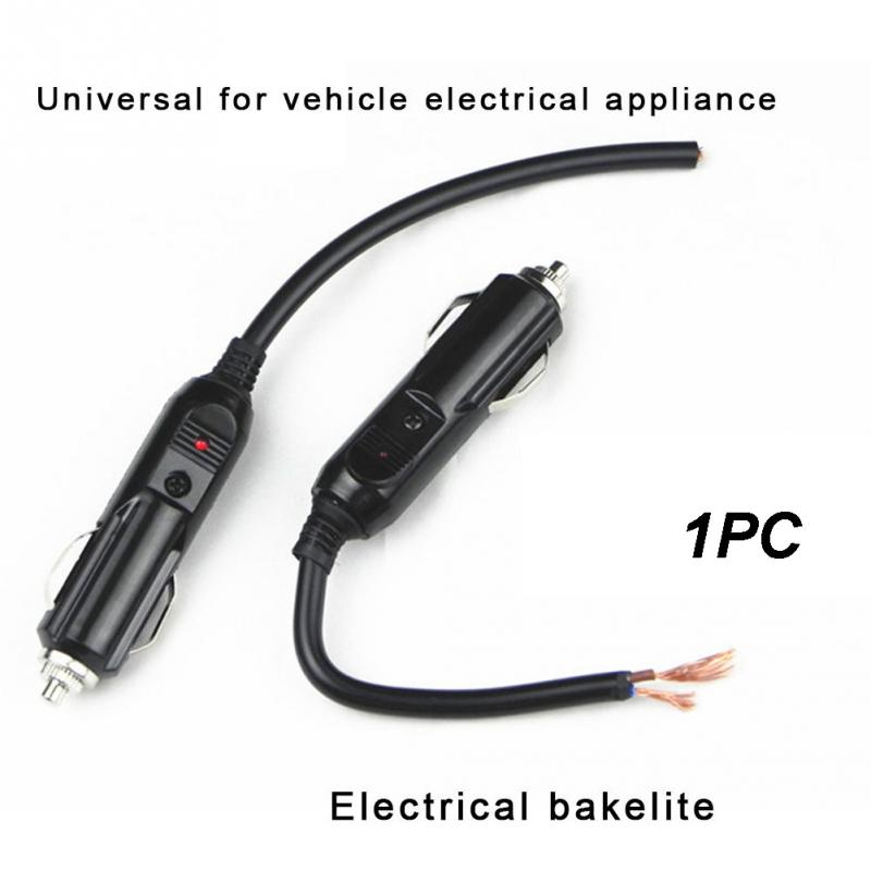 12V-24V <font><b>Car</b></font> Cigarette <font><b>Lighter</b></font> Plug Auto Power Supply Adapter Socket Connector image