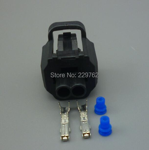 shhworldsea 2 Pin 1.8mm 178392-6 Engine Coolant Temperature Sensor Connector plug 1JZ-2JZ-1UZ-3SGE For Toyota Engine For Honda