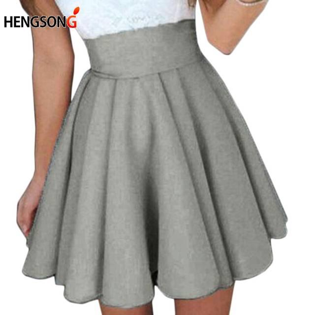 ad4ef8b72 HENGSONG New Summer Sexy Tennis Skirt for Girl Sport Skirt Short Skater  Fashion female Mini Pleated beach Saia minifalda