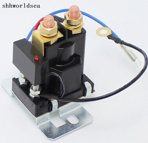 Shhworldsea haute qualité 200 24 V 12 V nouvelle batterie isolateur double batterie auto augmentation batterie
