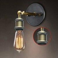 Vintage Industrial Lighting Retro Luxury Wall Sconce Lights 110V 220V 240V Indoor Ikea Bedroom Bathroom Balcony