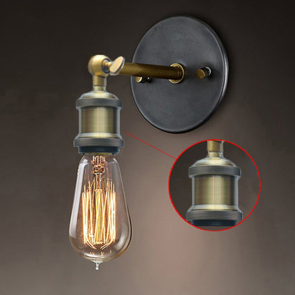 Vintage Industrial Lighting Retro Luxury Wall Sconce Lights 110V 220V 240V Indoor Bedroom Bathroom