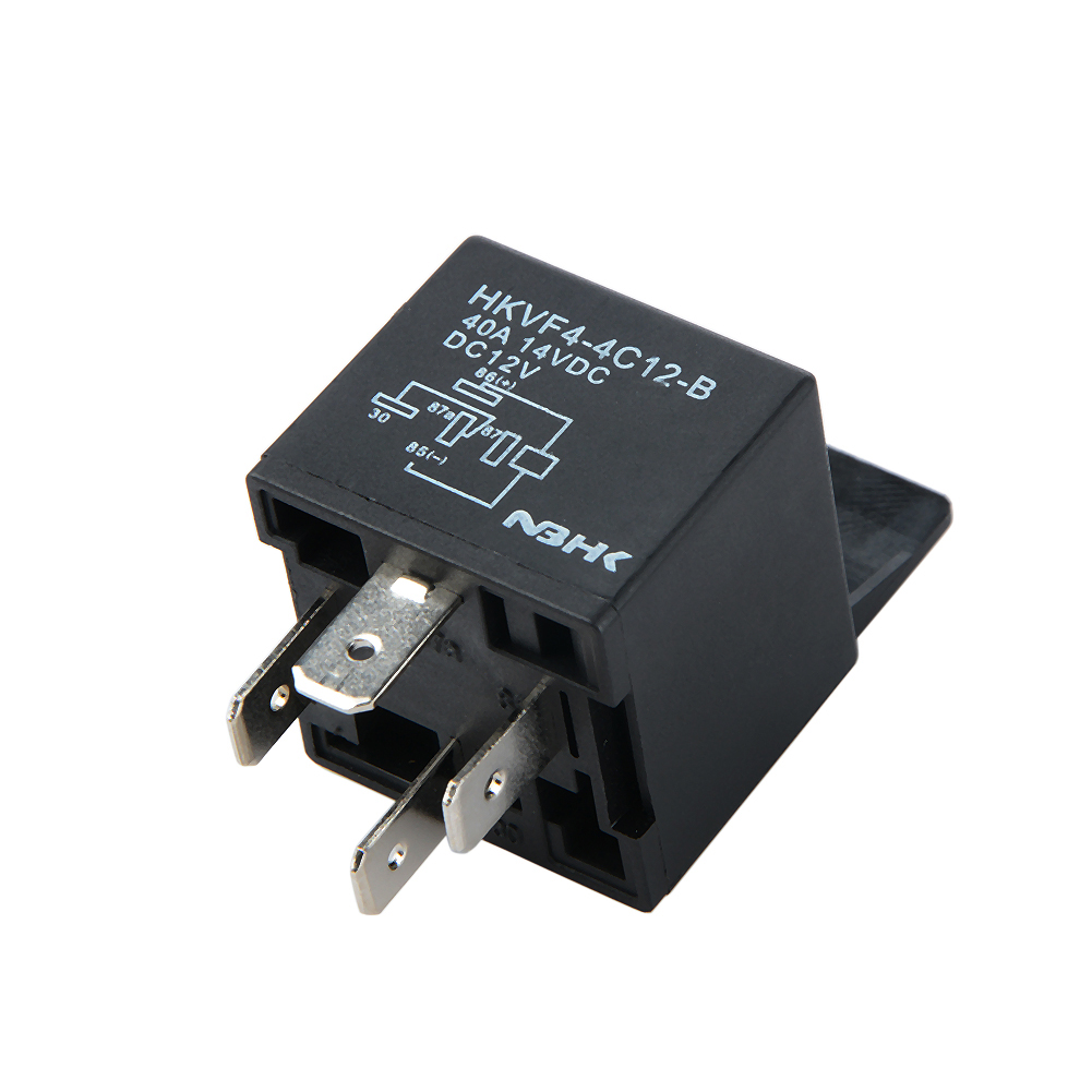 Hot Sale 1pc Auto Automotive Relay Socket 12volt 40 Amp 4 Pin Wiring Wires Hkvf4 4c
