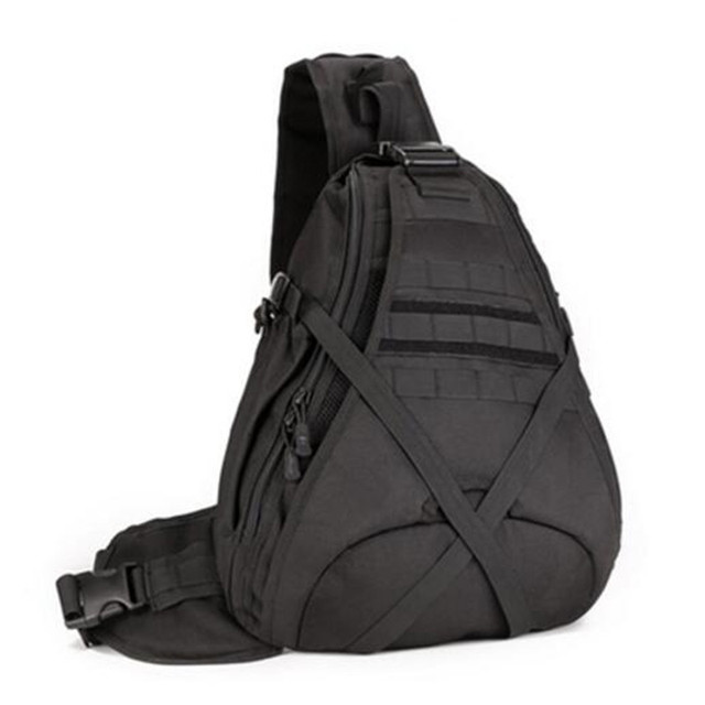 f10fe5fee9 Men s bags large capacity travel one shoulder backpack freelander side bags  tactics chest package 14 inch