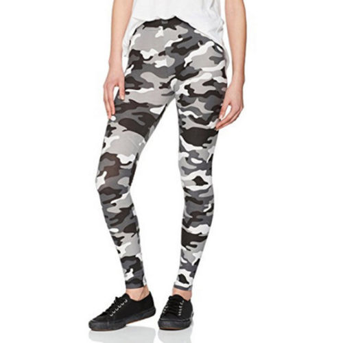 Women Ladies Camouflage Full Length   Leggings   Army Print Stretch Women's Trousers