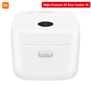 Image 1 - Orijinal XIAOMI Mijia YLIH02CM basınçlı pirinç ocağı 1S 3L 1170W elektrikli mutfak pişirme makinesi kablosuz bağlantı Mi ev APP
