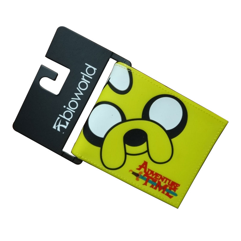Bioworld Wallets American Cartoon Adventure Time Clown Wallet Around The Time of Old Skin PVC Purse Men Women Kids Gift Bags  2016 the new gta5 wallet surrounding game around the world in the palm of your hand oxford cloth gift experience