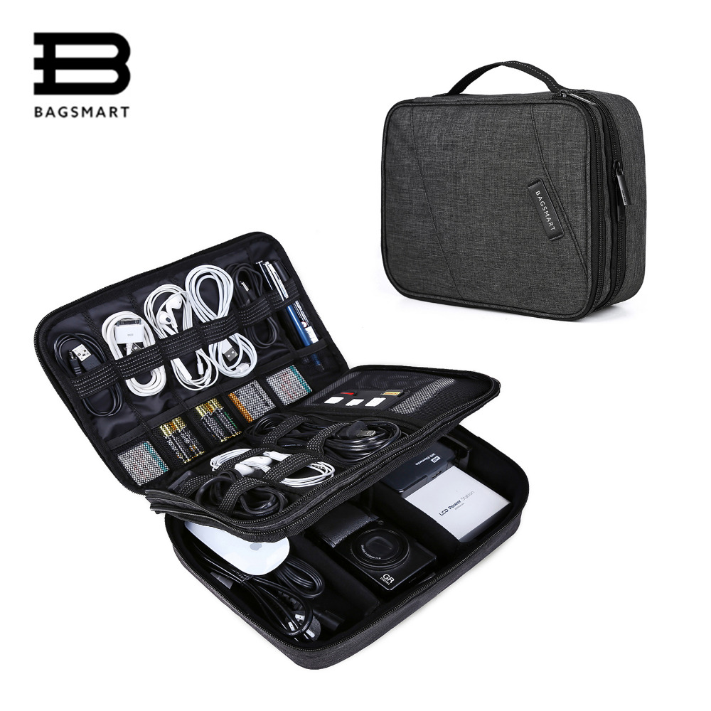 Accessories, Date, Storage, BAGSMART, Organizer, Electronic
