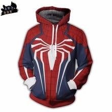 AC&DBZ 2018 new children's anime hooded cool spider man jersey hoodie men and women fashion street jacket 3d sweatshirt tops