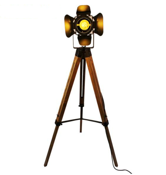 Led wood floor lamp Tripod American Loft Adjustable Bedside Floor lights stand lamp with lampshade home lighting for living roomLed wood floor lamp Tripod American Loft Adjustable Bedside Floor lights stand lamp with lampshade home lighting for living room