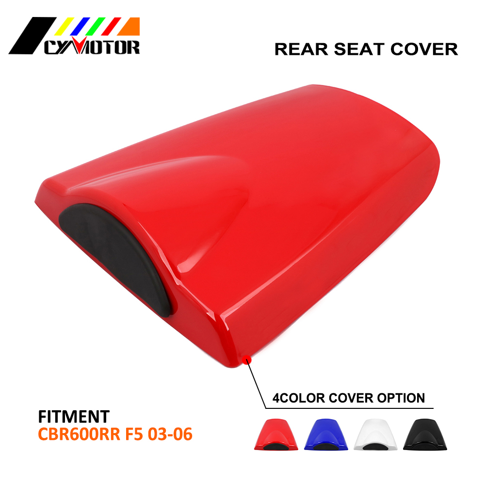 Motorcycle ABS Plastic Rear Seat Protective Cover Cap For HONDA CBR600RR CBR 600RR 2003 2004 2005 2006 03 04 05 06Motorcycle ABS Plastic Rear Seat Protective Cover Cap For HONDA CBR600RR CBR 600RR 2003 2004 2005 2006 03 04 05 06