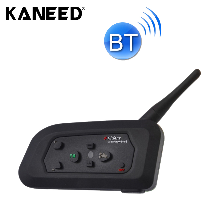1PC V4C 1200m Bluetooth Interphone Referee Headsets with Sport Armband Case Max Support: Four Users Supports FM цена