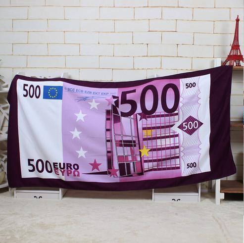 70*140 cm stampato in microfibra Euro telo da bagno spiaggia per adulti tovagliolo ronde Americana bandiera Britannica spiaggia di Trasporto trasporto libero