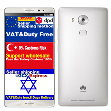 Original Huawei Mate 8 NXT-AL10 Kirin 950 Octa Core CPU 4GB RAM 64GB ROM FDD LTE Phone 6.0inch 1920X1080 16.0MP Android 6.0