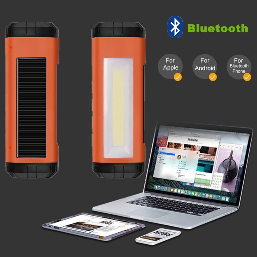 AIDISITE Solar Bluetooth високоговорител - Преносимо аудио и видео - Снимка 6