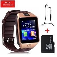 DZ10 Updated DZ09 Sync Notifier Clock Camera Bluetooth Support SIM Card For Apple IPhone Android PK