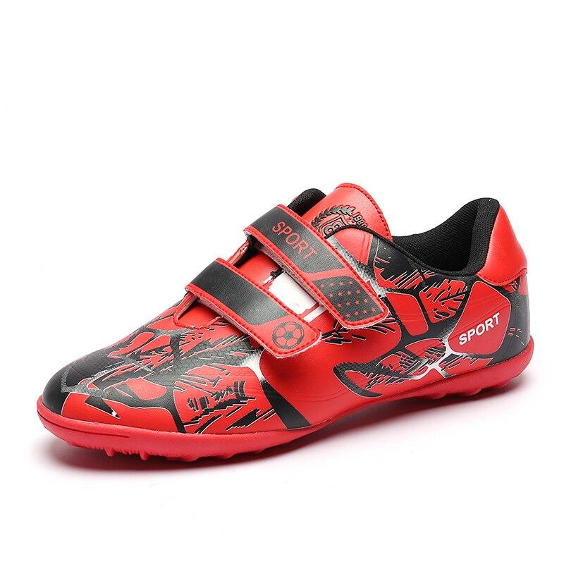 Ausdrucksvoll Kind Fußball Schuhe Indoor Fußball Schuhe Junge Mädchen Tenis Futsal Original Futsal Fußball Stiefel Centipede Fußball Stollen Kinder